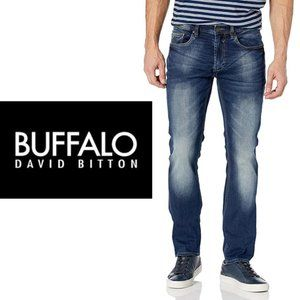 Buffalo Driven-X Straight Leg Jeans - 31x32